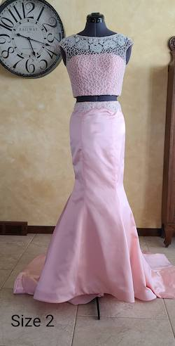 Sherri Hill Pink Size 2 Prom Mermaid Dress on Queenly
