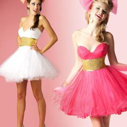 Style 50001B Mac Duggal Pink Size 6 Flare Studded Sweetheart Tall Height Ball gown on Queenly