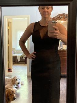 Vince Camuto Black Size 4 Cocktail Dress on Queenly