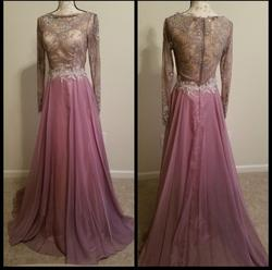 Alyce Paris Purple Size 2 Lace Tulle Ball gown on Queenly
