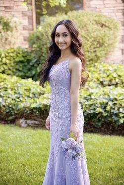 Sherri Hill Light Purple Size 2 Mermaid Dress on Queenly