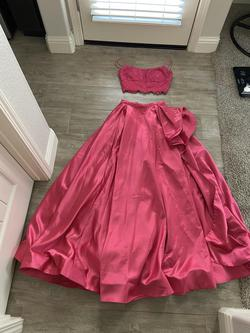 Sherri Hill Pink Size 2 Side Slit Short Height Ball gown on Queenly