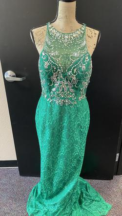 Green Size 12 Straight Dress on Queenly