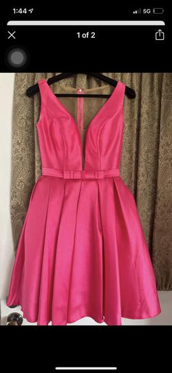 Sherri Hill Pink Size 2 Cocktail Dress on Queenly