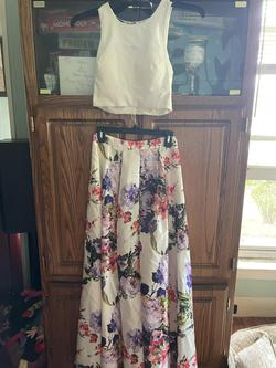 My Michelle Multicolor Size 2 Train Dress on Queenly