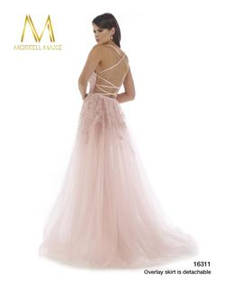 Style 16311 Morrell Maxie Light Pink Size 6 Pageant Mermaid Dress on Queenly