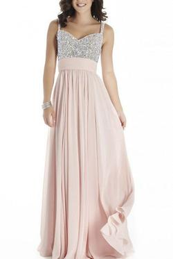 Style E70019 Pink Size 00 A-line Dress on Queenly
