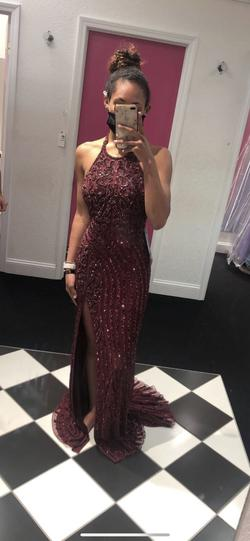 Sherri Hill Red Size 2 Tall Height Train Dress on Queenly