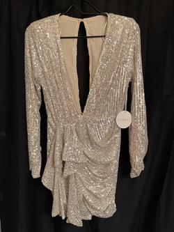 Gold Size 8 Cocktail Dress on Queenly