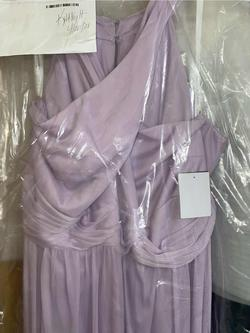 David's Bridal Purple Size 22 Side slit Dress on Queenly