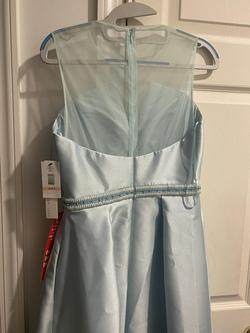 Nicole Miller Light Blue Size 2 Ball gown on Queenly
