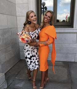 Orange Size 00 Cocktail Dress on Queenly