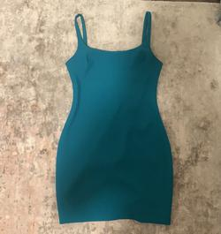 LIKELY Blue Size 4 Sorority Formal Nightclub Teal Cocktail Dress on Queenly