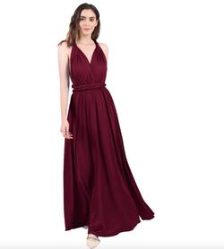 Style B073CGBPLG IWEMEK Red Size 6 Sorority Formal Tall Height Wedding Guest Straight Dress on Queenly