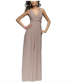 Style B073CGBPLG IWEMEK Nude Size 6 Sorority Formal Tall Height Wedding Guest Straight Dress on Queenly
