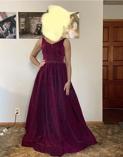 Lucci Lu Red Size 2 Prom A-line Dress on Queenly