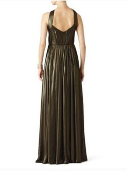 Halston Heritage Black Size 6 Prom Keyhole Halter A-line Dress on Queenly