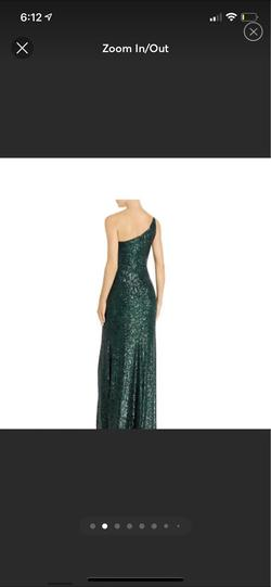 Avery G Green Size 2 Pageant Side Slit Sequin Straight Dress on Queenly