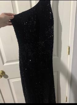 Foreign Exchange Black Size 6 Jewelled Prom Sequin Straight Dress on Queenly