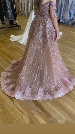 Pink Size 10 Train Dress on Queenly