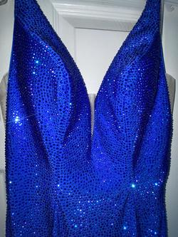 Sherri Hill Royal Blue Size 4 Pageant Prom Mermaid Dress on Queenly