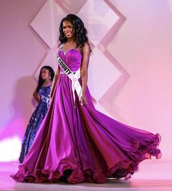 Larissa Couture Purple Size 2 Pageant Ball gown on Queenly