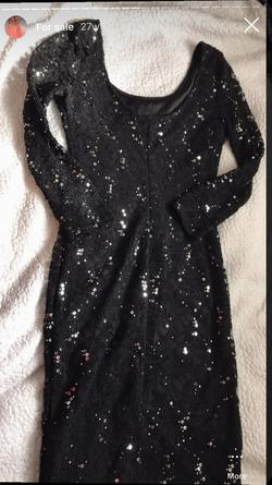 Bailey blue Black Size 00 Cocktail Dress on Queenly