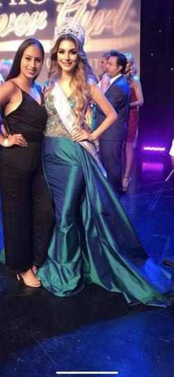 Jovani Blue Size 4 Sheer Mermaid Dress on Queenly