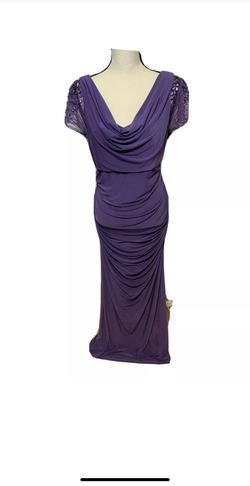Emma Street Purple Size 16 Wedding Guest Straight Dress on Queenly