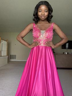 Pink Size 2 A-line Dress on Queenly