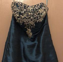 Blue Size 2 Mermaid Dress on Queenly