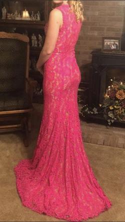Pink Size 00 Side slit Dress on Queenly