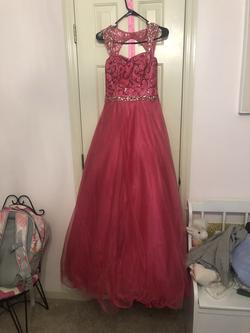 Pink Size 2 Ball gown on Queenly
