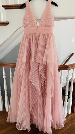 Jovani Light Pink Size 8 Pageant Ball gown on Queenly