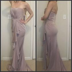 Jovani Purple Size 00 Party Pageant Prom Wedding Guest Straight Dress on Queenly