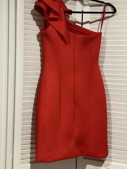 Jovani Red Size 4 Wedding Guest Homecoming Cocktail Dress on Queenly