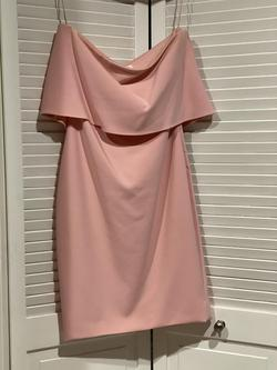 Likely Pink Size 4 Sorority Formal Wedding Guest Bodycon Cocktail Dress on Queenly