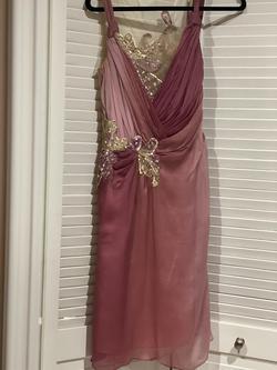 Alberto Makali Light Pink Size 6 Wedding Guest Roberto Makali Cocktail Dress on Queenly