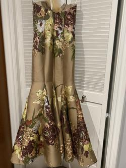 Jovani Multicolor Size 4 Prom Mermaid Dress on Queenly