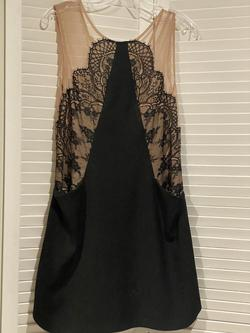 BCBG Black Size 4 Short Height Wedding Guest Cocktail Dress on Queenly