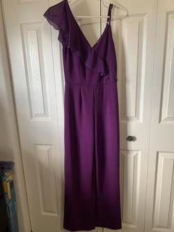 Purple Size 0 Jumpsuit Dress on Queenly
