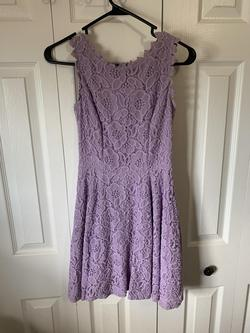 Purple Size 0 Cocktail Dress on Queenly