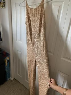 Nude Size 0 Jumpsuit Dress on Queenly