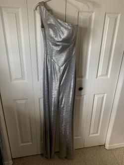 Silver Size 0 Jumpsuit Dress on Queenly