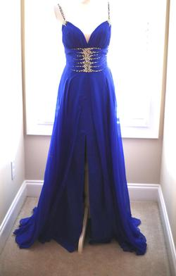 Mac Duggal Purple Size 2 Pageant Custom Medium Height A-line Dress on Queenly