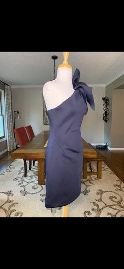 Jovani Blue Size 2 Pageant Interview Bodycon Cocktail Dress on Queenly