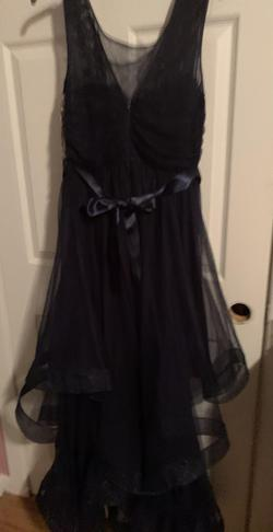 Blue Size 14 Ball gown on Queenly