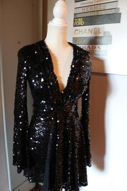Jovani Black Size 2 Nightclub Cocktail Dress on Queenly