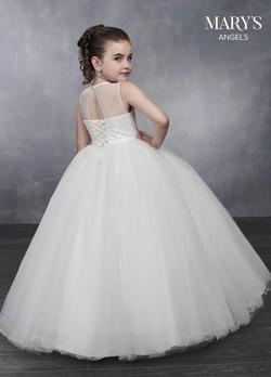 Style MB9038 Mary's White Size 00 Flower Girl Ball gown on Queenly