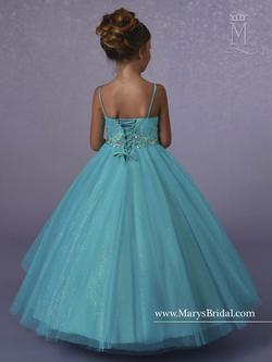 Style FP181 Mary's Blue Size 00 Tulle Ball gown on Queenly